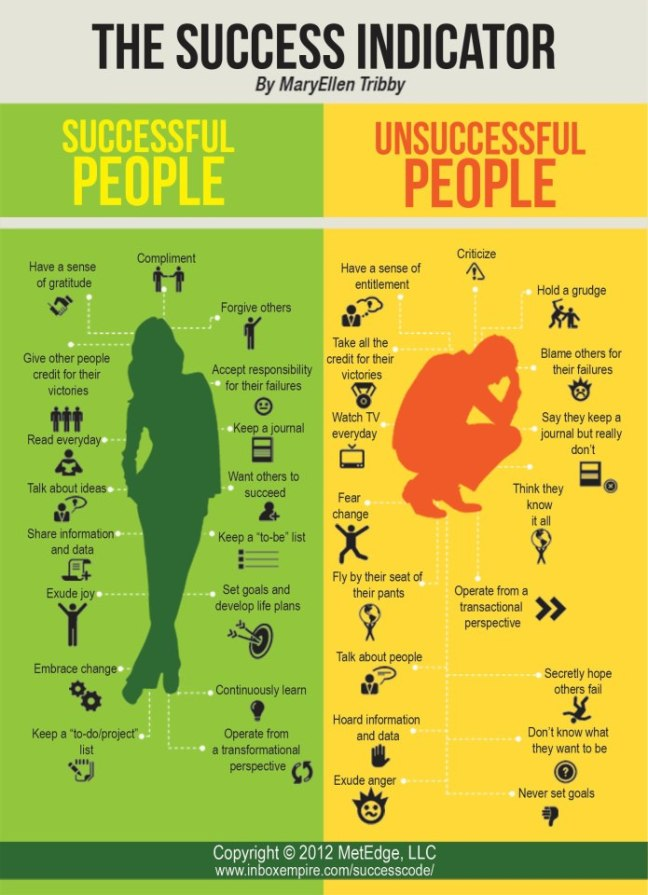 The Success Indicator by Mary Ellen Tribby