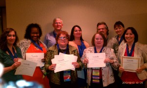 And by the way, the above picture is a group of stellar, award-winning, dynamic career professionals recognized at the 2013 Career Directors Conference for service and unique contributions to the industry. See http://careerdirectors.com/ for more information on how they can assist you with your executive career communications.